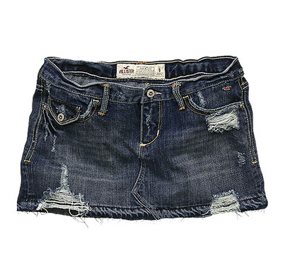 hollister denim skirt 39